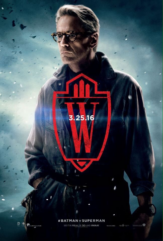 File:Batman v Superman Dawn of Justice - Alfred Pennyworth character poster.png