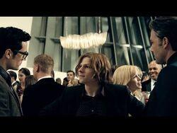 Clark and Bruce meet Lex