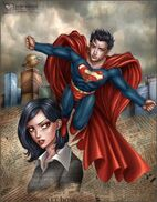 Superman Lois Lane by daekazu