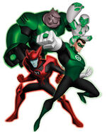 Green Lantern Corps (Green Lantern:The Animated Series)