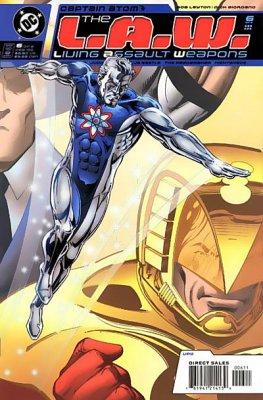 Captain atom L.A.W.