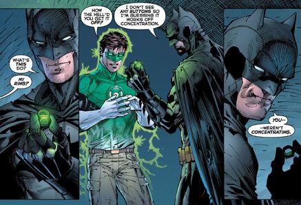 Batman steal Green Lantern Power Ring