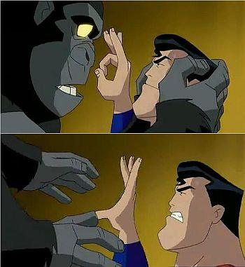 Superman-finger