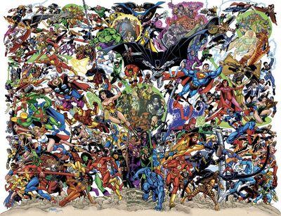DC-Marvel - George Perez