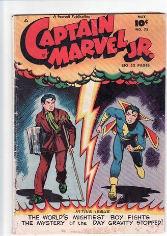 Cap marvel jr