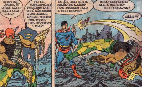 Superman bloodsport observation