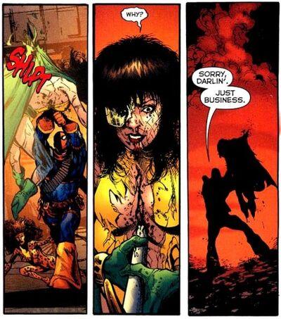 Death of Phantom Lady 01