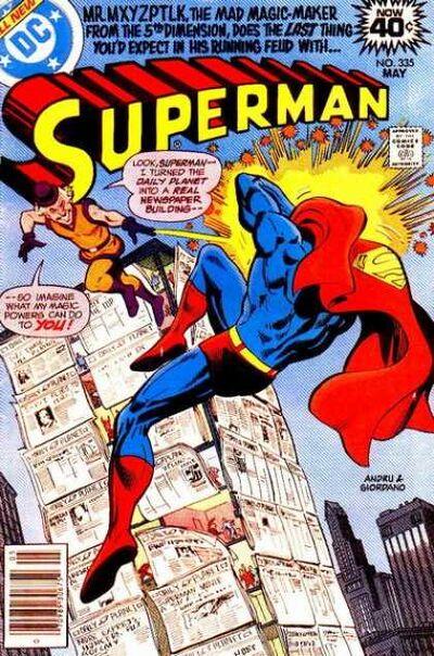 Mxyzptlk & superman