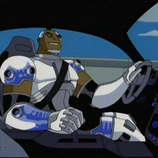 Cyborg drives to Steel City.