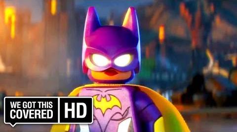 "The LEGO Batman Movie ""Batgirl"" TV Spot HD Will Arnett, Rosario Dawson, Ralph Fiennes"
