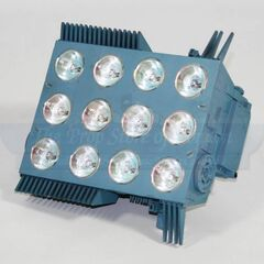 Light of Argo city in model.