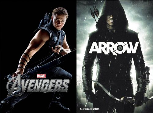 Hawkeye Vs. Green Arrow