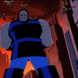 Darkseid during his first invasion.