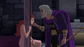 Bekka beinging comforted by Highfather JLG&M.png