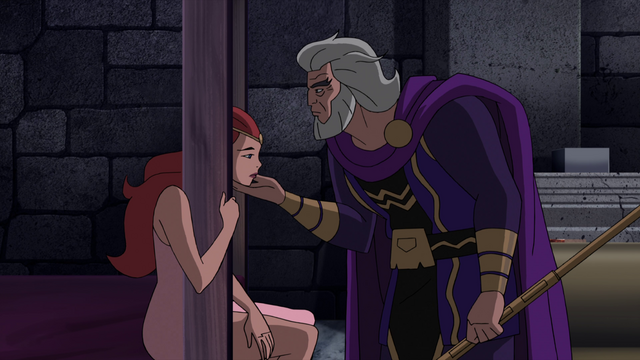 File:Bekka beinging comforted by Highfather JLG&M.png