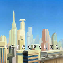 Metropolis in the 2040s.