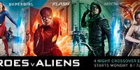 Heroes v Aliens