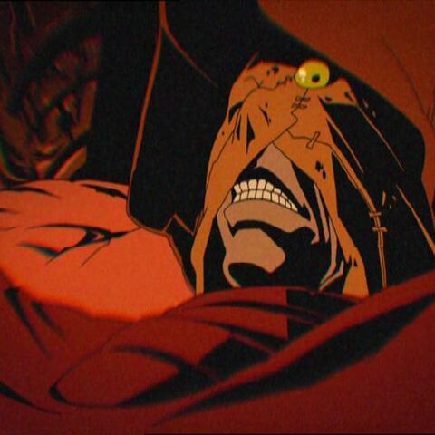 The Scarecrow as he appears in <i>Batman: Gotham Knight</i>.
