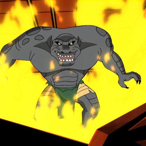 Zander when mutated.