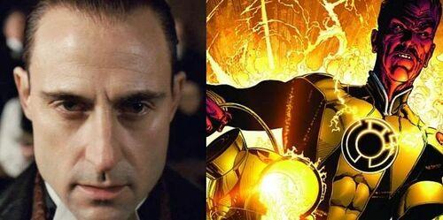 Mark Strong as Sinestro