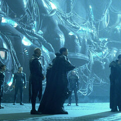 Kryptonians aboard Black Zero.