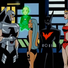 Warhawk tells Justice League that he think that Superman tried to kill him