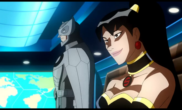 File:Owlman and Superwoman.png