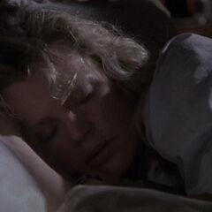 Vicki sleeps.