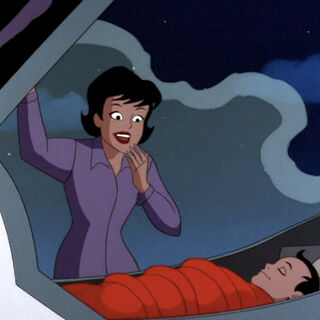 Martha discovers Clark.