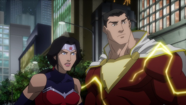 File:Shazam and Wonder Woman JLW.png