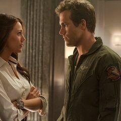 Carol Ferris and Hal Jordan
