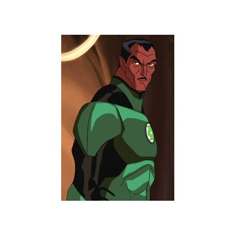 Sinestro as a Green Lantern.