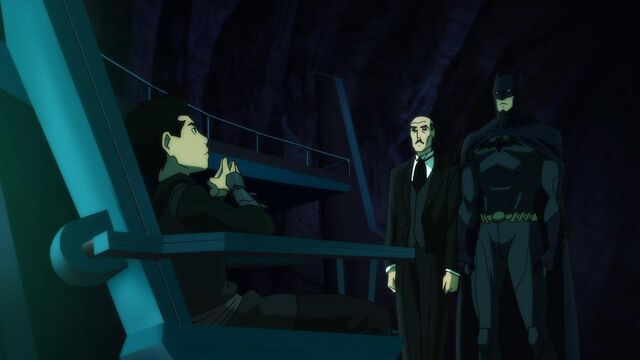 File:Son of Batman - Damian, Alfred, Batman.jpg