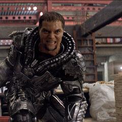 General Zod in full armor.