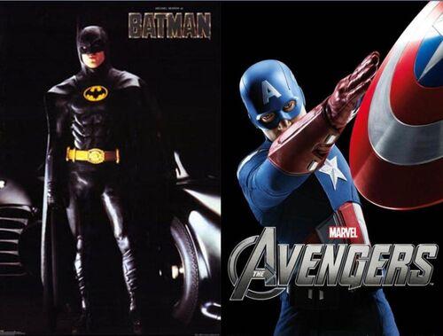 Batman Vs. Cap