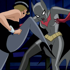 Jay punched Batwoman