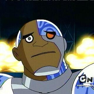 Cyborg discovers a bomb.