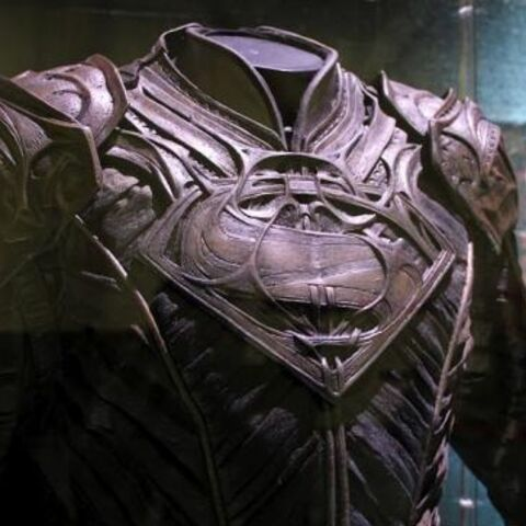 Jor-El's costume at the Expo