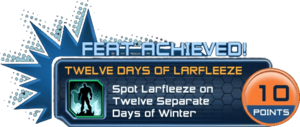 Feat - Twelve Days of Larfleeze