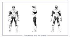 GreenLantern body line