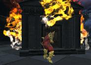 Burning Tomb
