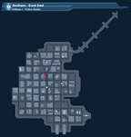 Arkham I - Police Radio 1 Map