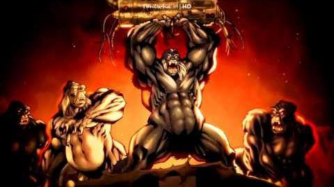 Gorilla Grodd DC Universe Online Headline - Simian Sucker Punch!