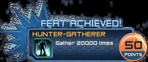 Feat - Hunter-Gatherer