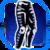 Icon Legs 001 Blue