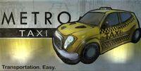 MetroTaxiSign