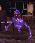 Masked Apparition Spooky Zanni Mask