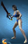 Dao Tech Sword equipped