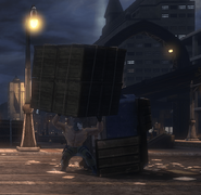 Stack of Weathered Crates (Cape Carmine)