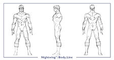 Nightwing body line